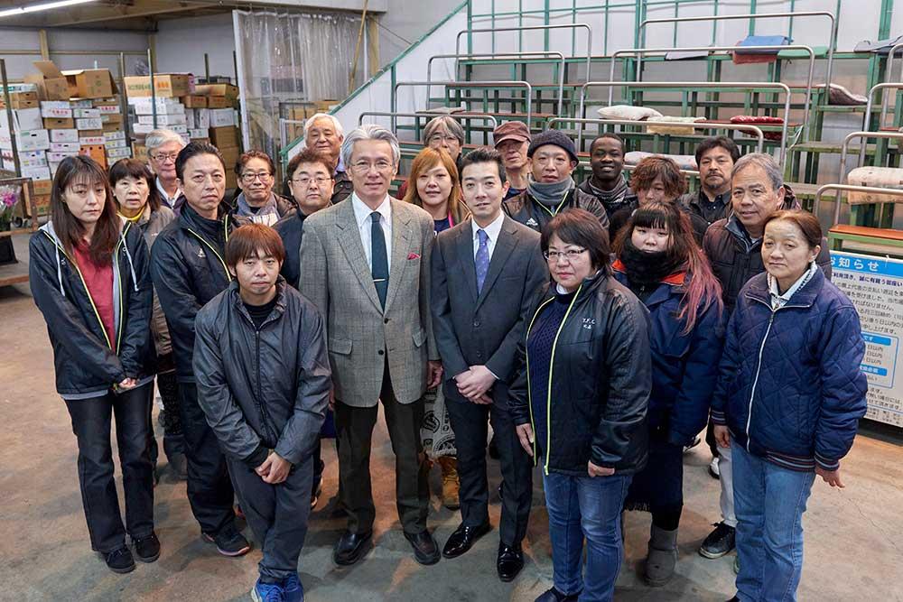 蟹江太郎 代表取締役社長に就任
